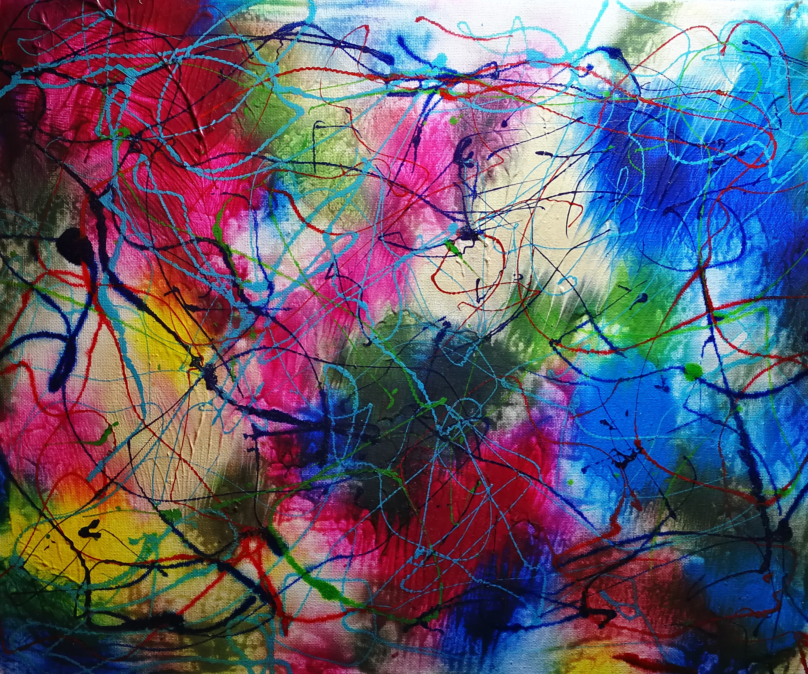 Art painting abstract Elisabeth Six