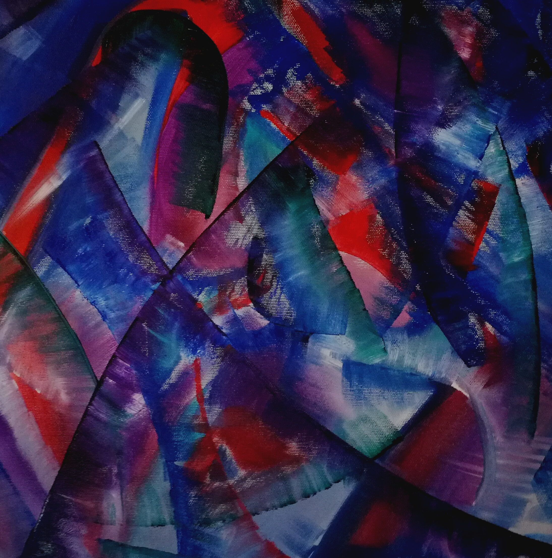 Elisabeth Six abstract painting