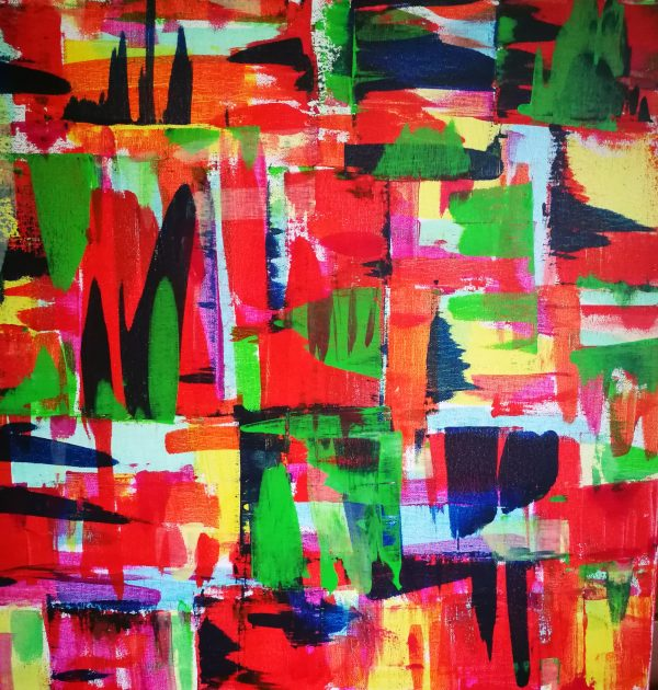 Abstract painting Elisabeth Six